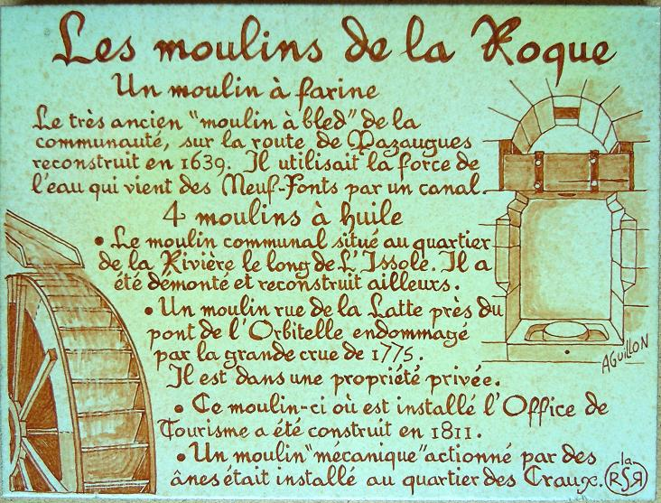 les moulins de la Roque
