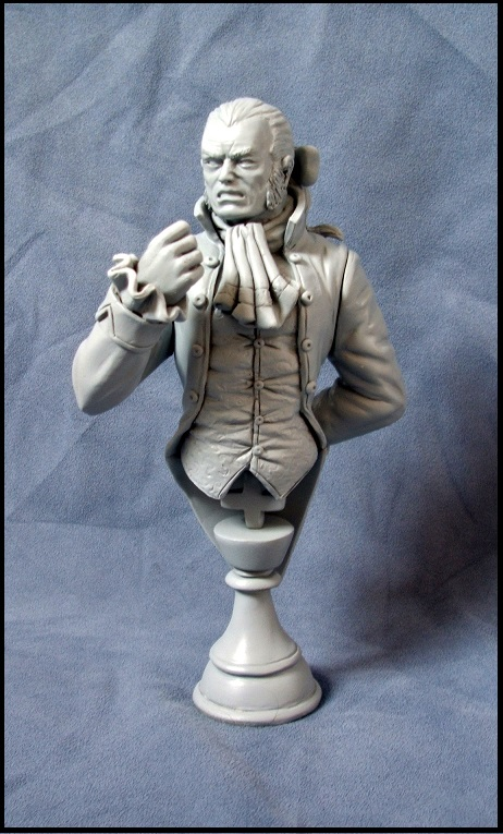 Buste de Sebastian shaw / le roi Noir 13080308540116083611435866