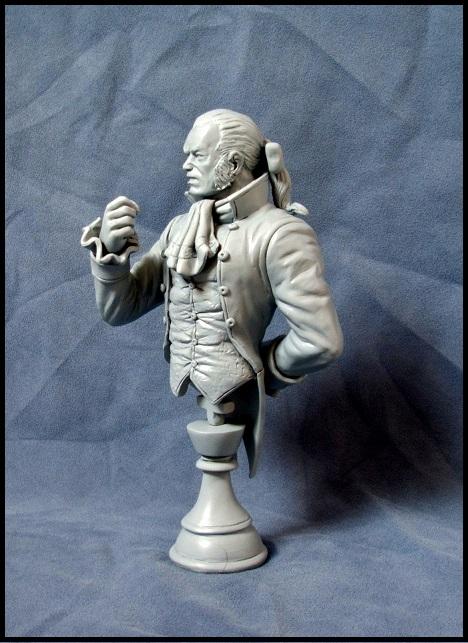 Buste de Sebastian shaw / le roi Noir 13080308540116083611435867