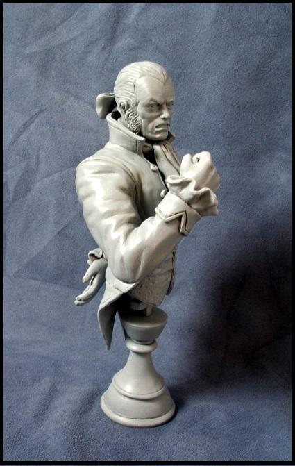 Buste de Sebastian shaw / le roi Noir 13080308540116083611435870