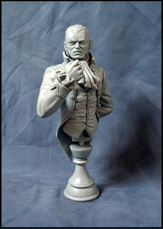 Buste de Sebastian shaw / le roi Noir 13080308540116083611435871