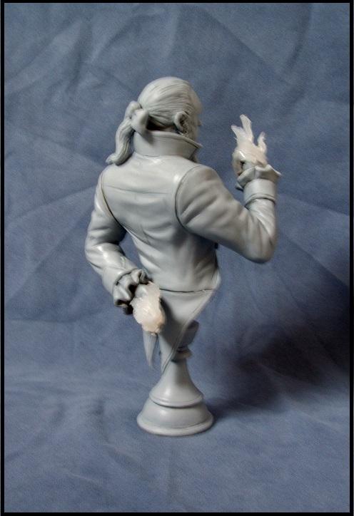Buste de Sebastian shaw / le roi Noir 13080308540116083611435873