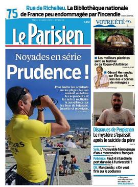 Le Parisien Mardi 06 aout 2013