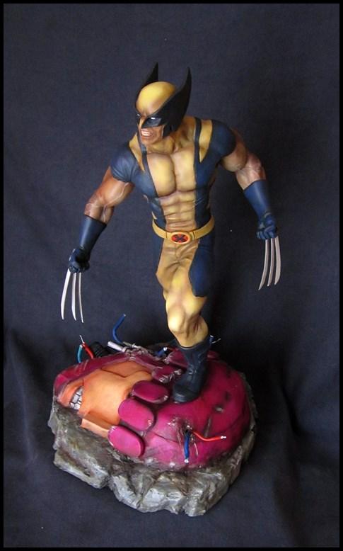 Wolverine 1/4 statue by nimajneb 13080702321416083611445285