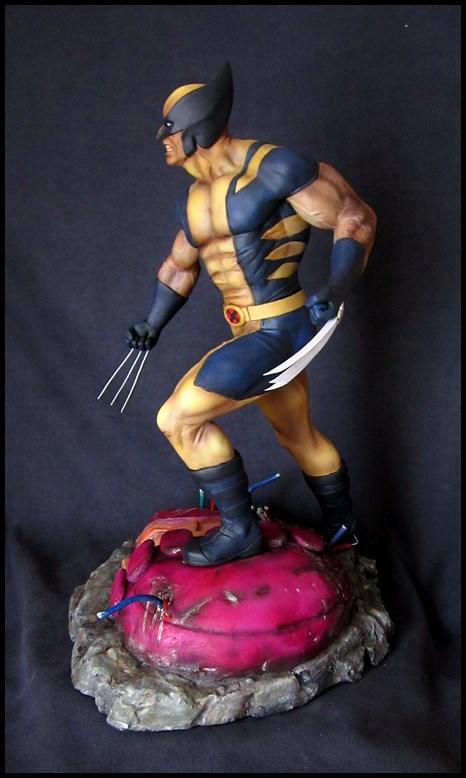 Wolverine 1/4 statue by nimajneb 13080702321516083611445286