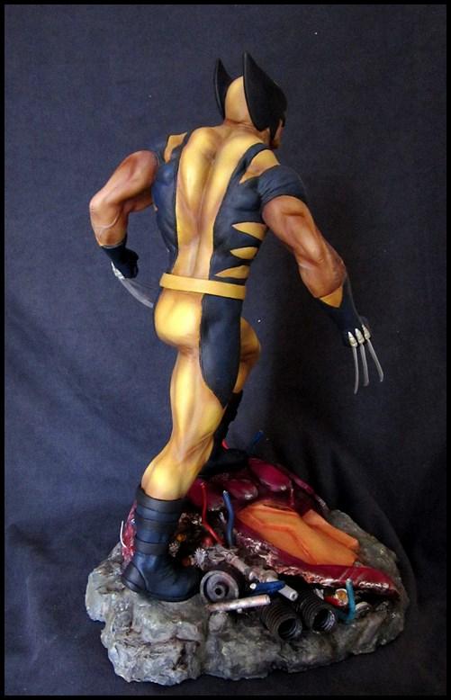 Wolverine 1/4 statue by nimajneb 13080702321516083611445287
