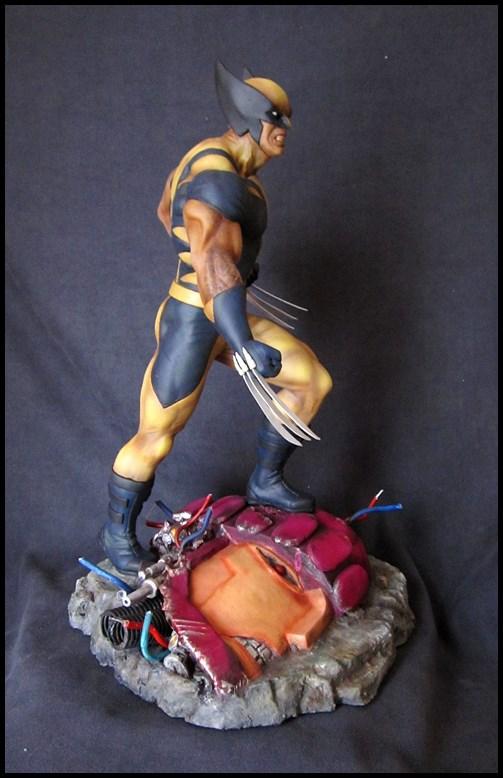 Wolverine 1/4 statue by nimajneb 13080702321516083611445288
