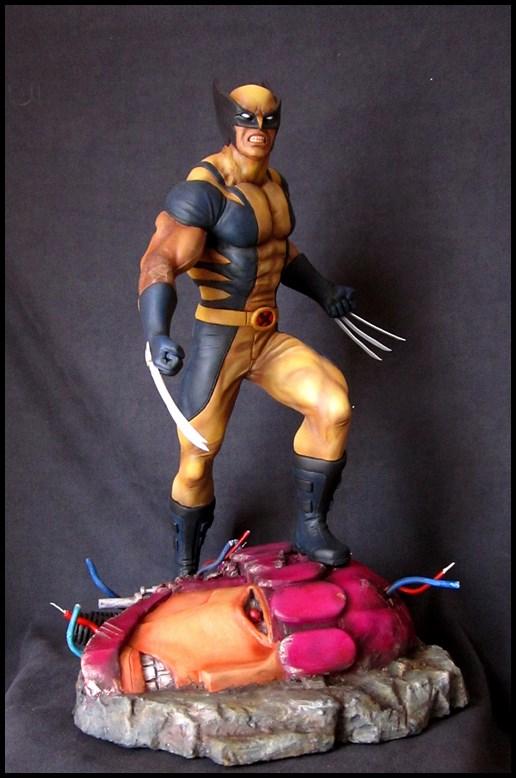 Wolverine 1/4 statue by nimajneb 13080702321516083611445289