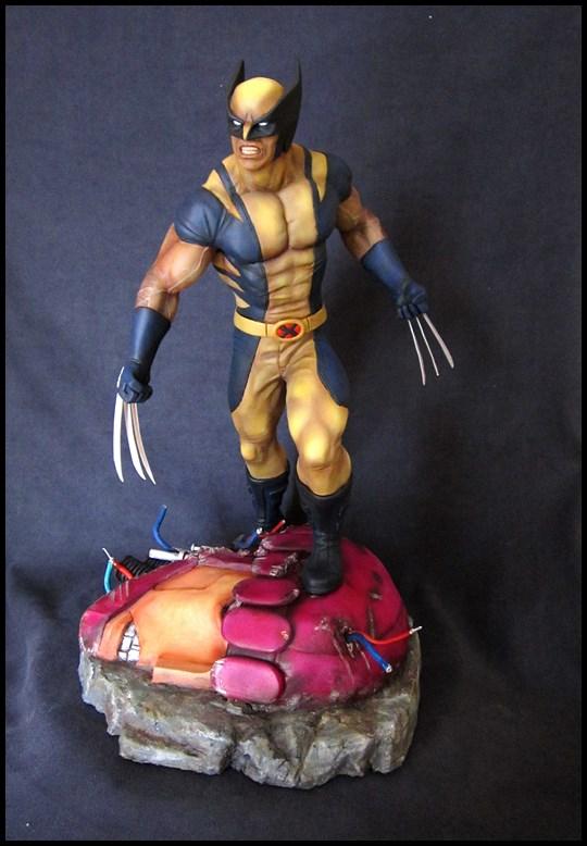 Wolverine 1/4 statue by nimajneb 13080702321516083611445292
