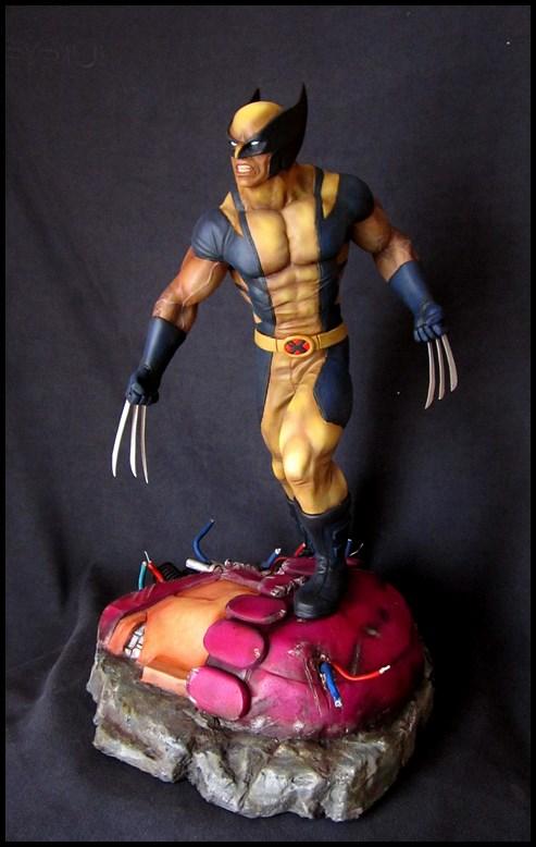 Wolverine 1/4 statue by nimajneb 13080702321516083611445293