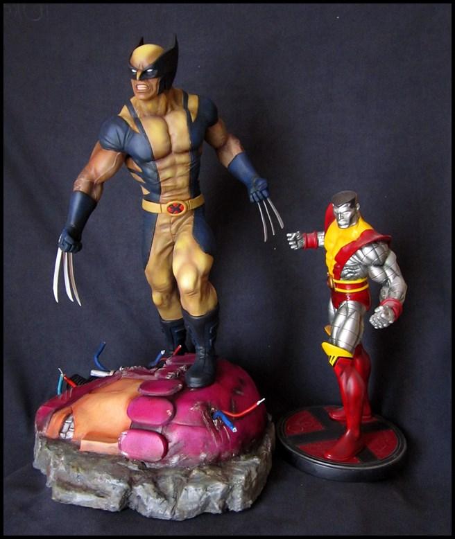 Wolverine 1/4 statue by nimajneb 13080702321516083611445294