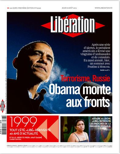 Liberation Jeudi 8 août 2013