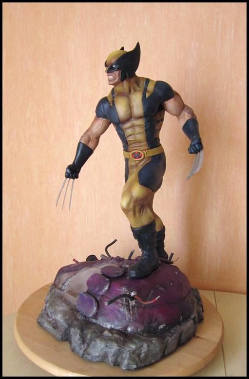 Wolverine 1/4 statue by nimajneb 13080912170616083611450151