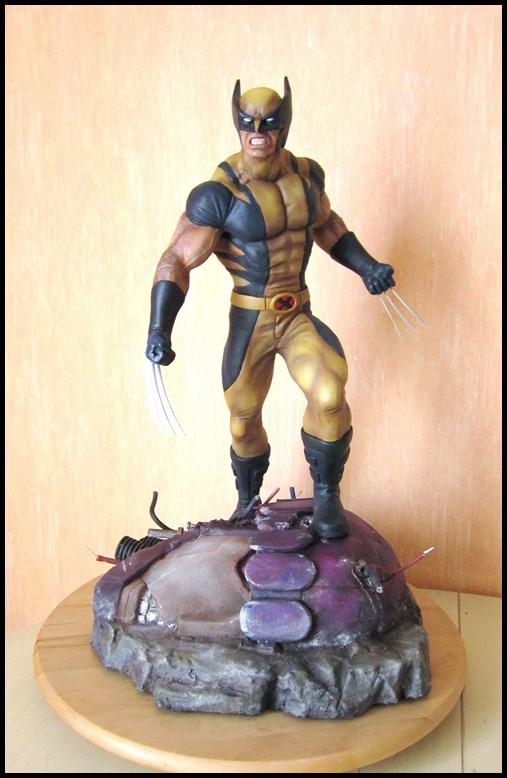 Wolverine 1/4 statue by nimajneb 13080912170716083611450154