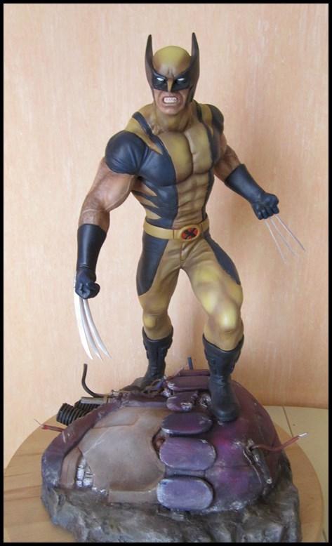 Wolverine 1/4 statue by nimajneb 13080912170716083611450156
