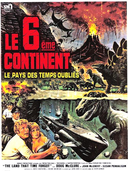L'AFFICHE : LE SIXIEME CONTINENT dans Cinéma 13081101513315263611454432