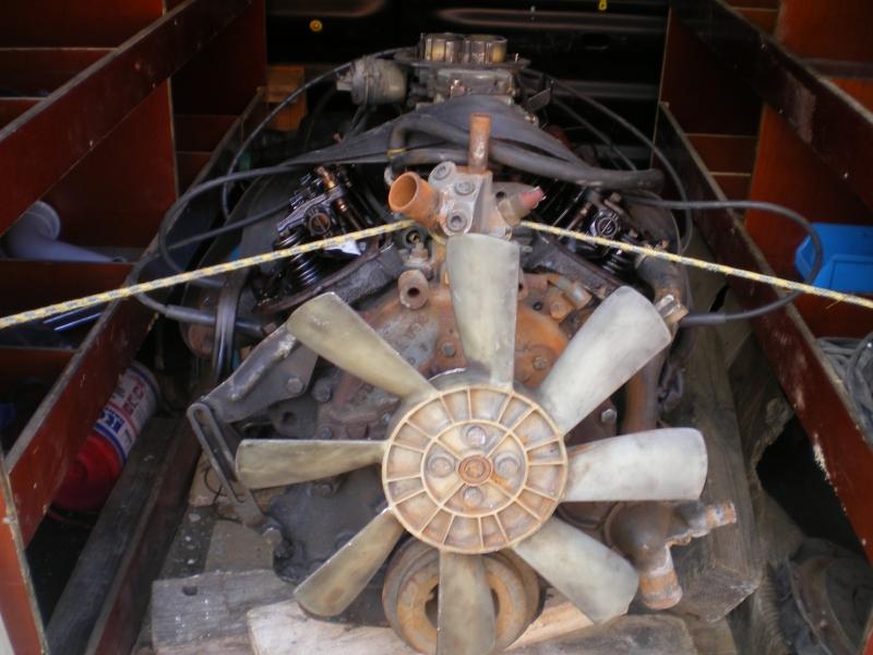 remontage moteur 2.3l V6 ford 1982 13081304300415300411461115