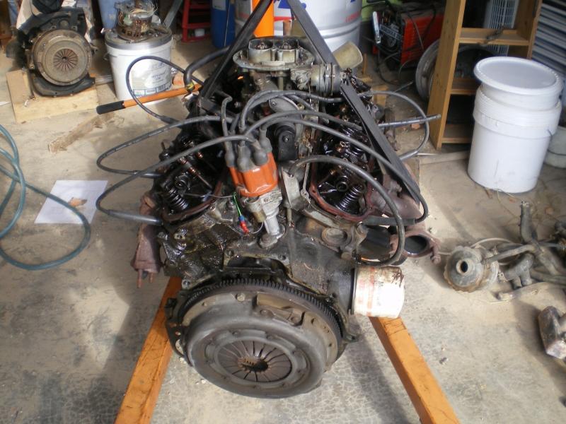 remontage moteur 2.3l V6 ford 1982 13081304314015300411461124