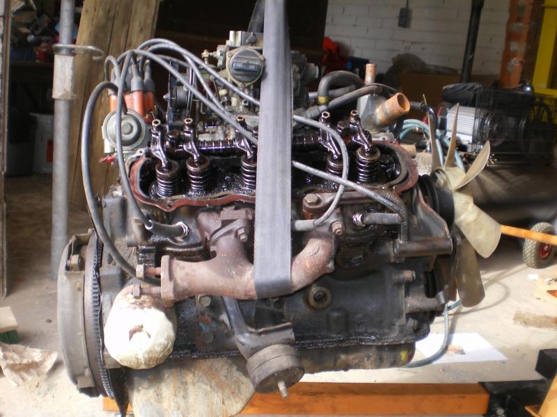 remontage moteur 2.3l V6 ford 1982 13081304323315300411461130