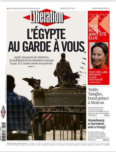 Liberation  Lundi 19 août 2013