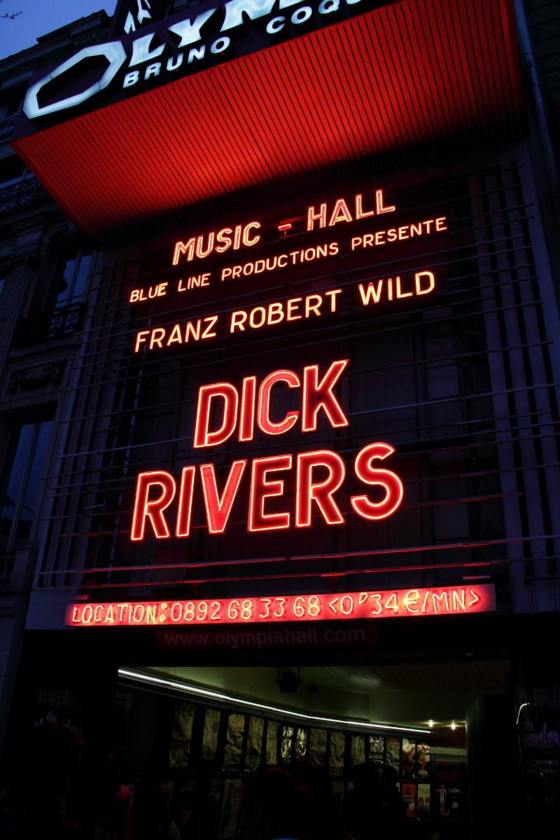 "DICK RIVERS ""Mister D Tour"" 2011/2013 : compte rendu (Casino de Paris, Olympia, Noisy, Clamart) 13082303193815789311487592"