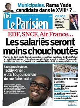 Le Parisien Mardi 27 Aout 2013