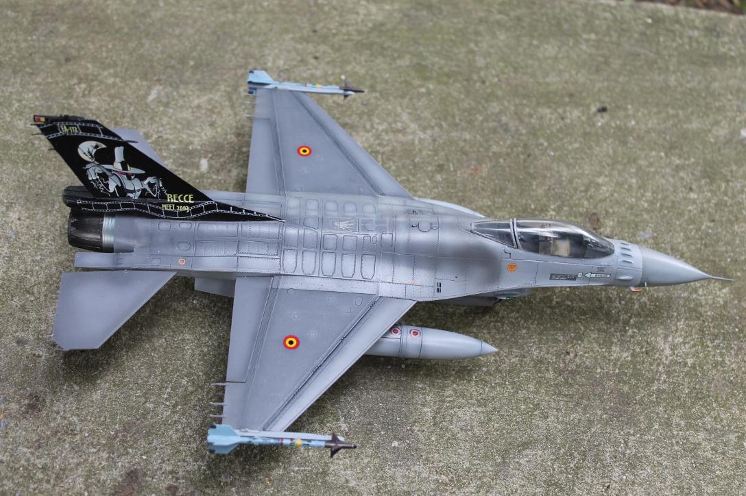 F 16 1ère escadrille (Florennes) 13090110521810561811516872