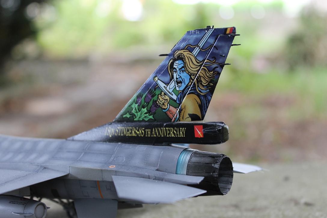 F 16 1ère escadrille (Florennes) 13090110523410561811516876