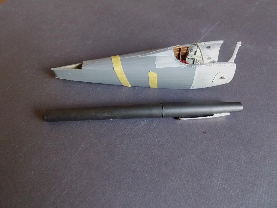 Nieuport 24 bis, kit Roden 1/32 + photo découpe Toms Modelworks et figurine 13090702321216079111530902
