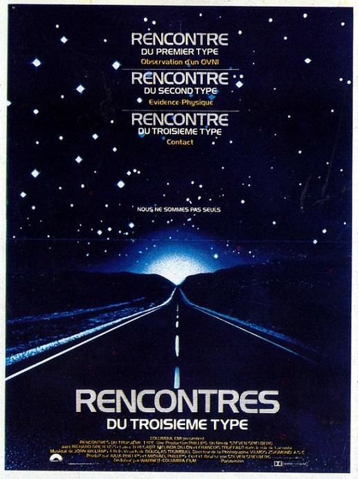 L'AFFICHE : RENCONTRES DU 3e TYPE dans Cinéma 13090802143415263611532364