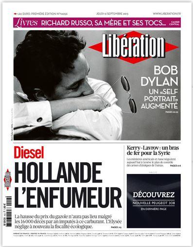 Libération Jeudi 12 Septembre 2013