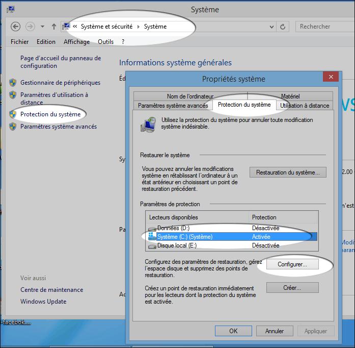 Comment Faire Une Restauration Systeme Windows