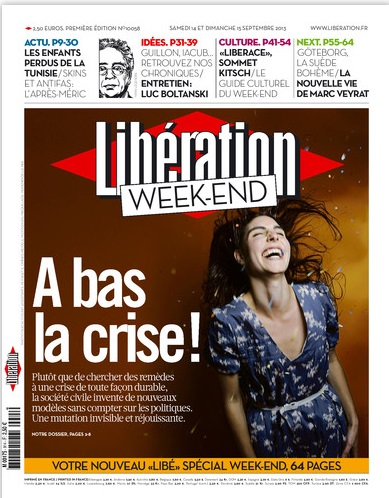 Libération Samedi 14 et dimanche 15 Septembre 2013