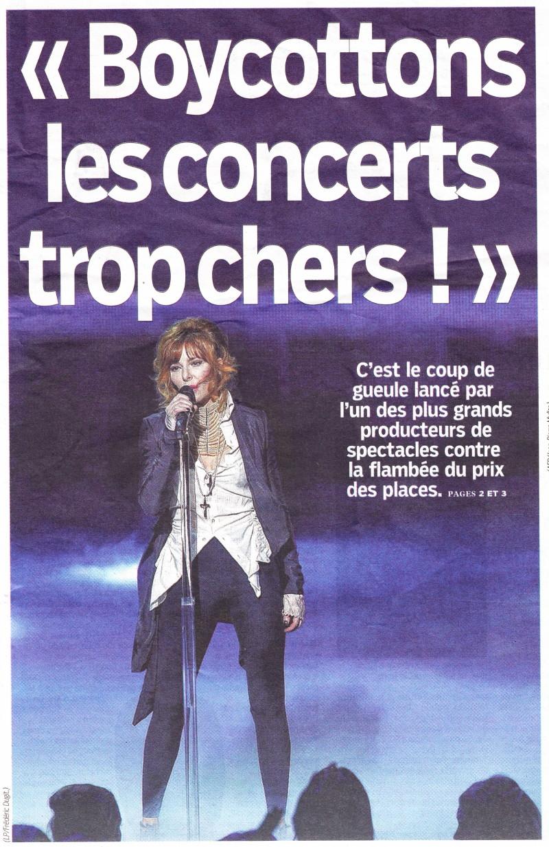 """« Boycottons les concerts trop chers » (""""Le Parisien"""", 14 septembre 2013) 13091404430416724011550556"""
