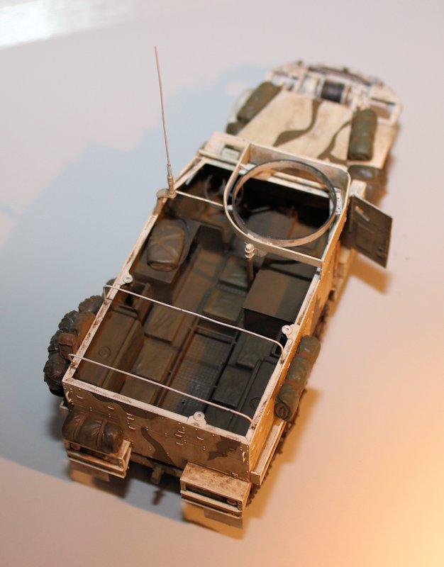 HALF TRACK M2A1 Belgique 1945 - 1/35 13091510100414106611554619