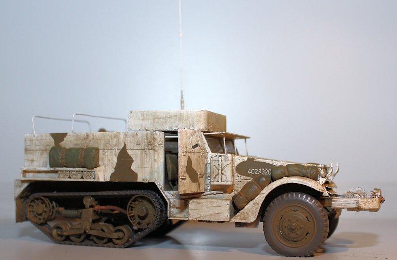 Half-Track M2A1 / Belgique 1945 (DRAGON Smart Kit 6329 - 1/35) 13091510100514106611554621