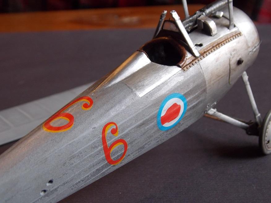 Nieuport 24 bis, kit Roden 1/32 + photo découpe Toms Modelworks et figurine 13091701181616079111559373