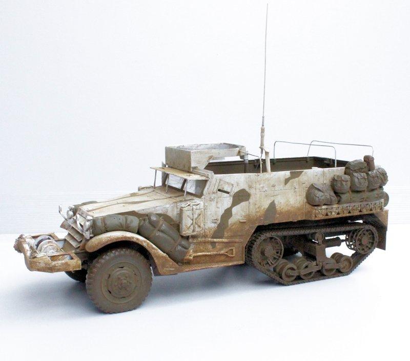 HALF TRACK M2A1 Belgique 1945 - 1/35 13091711075914106611559105