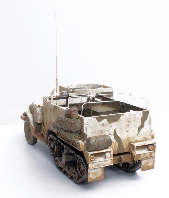 HALF TRACK M2A1 Belgique 1945 - 1/35 13091711075914106611559106