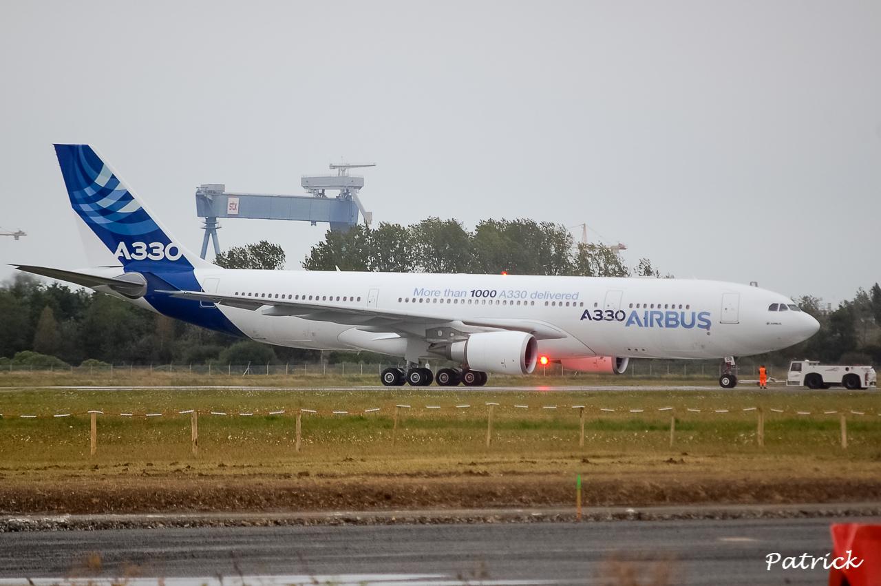 [17/09/2013] Passage de l'Airbus A330-200 (F-WWCB) Airbus Indutries !!!! 13091801063516756011561688