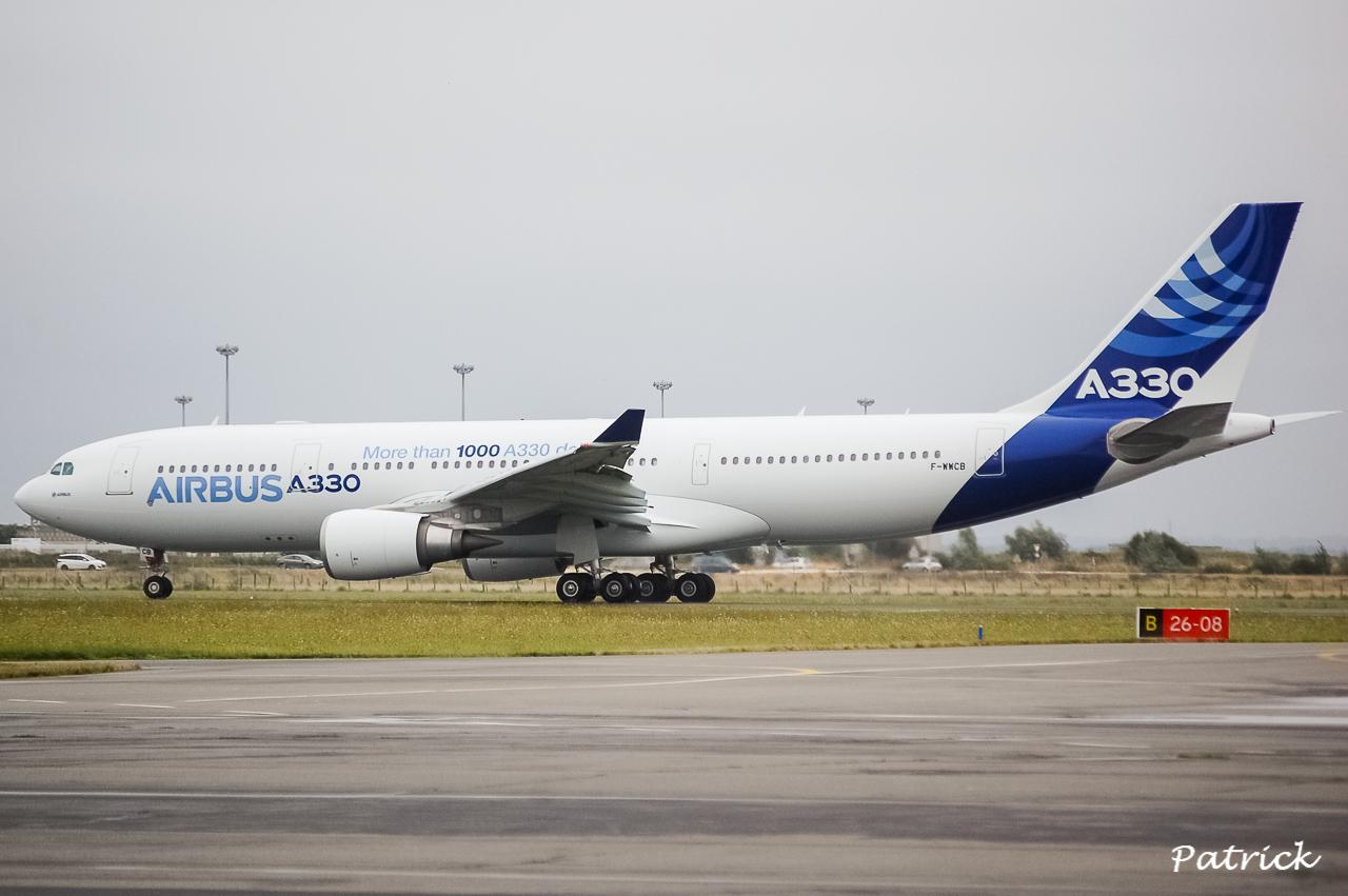 [17/09/2013] Passage de l'Airbus A330-200 (F-WWCB) Airbus Indutries !!!! 13091801063516756011561690