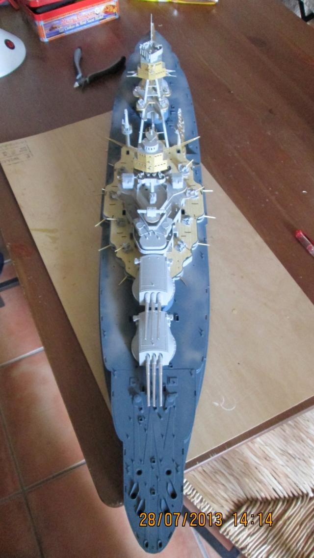 montage du USS ARIZONA AU 1/200 par Raphael - Page 3 1309211155554922011571097