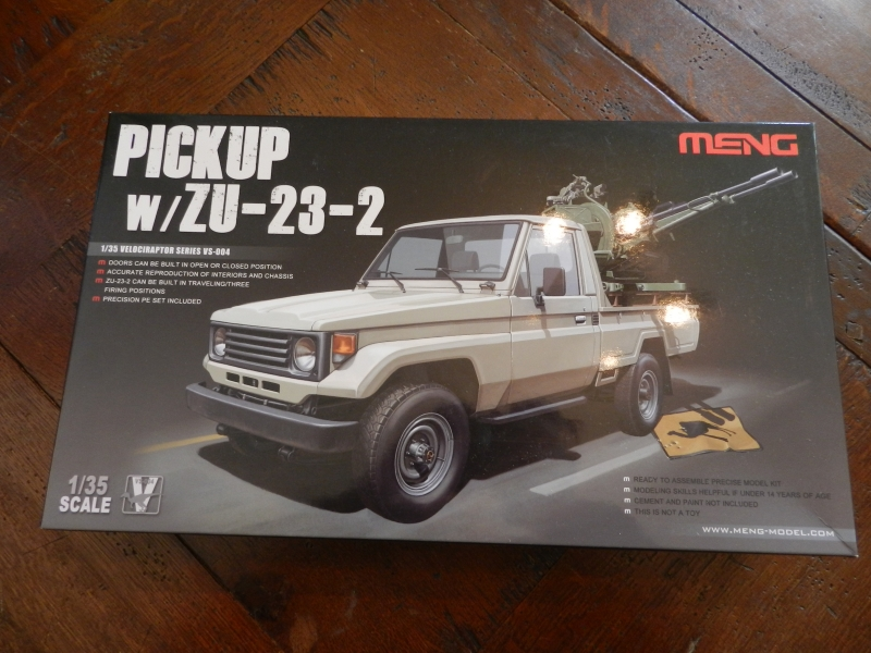 Pick up w zu-23-2 ( 1/35 Meng ) 13092411032015063811578947