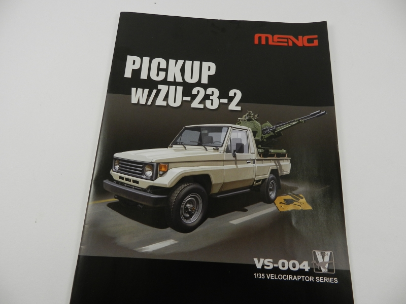 Pick up w zu-23-2 ( 1/35 Meng ) 13092411111415063811578984