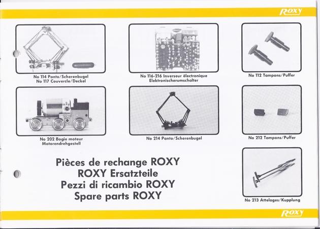 Catalogue Roxy 1987 ou 1988 (le dernier) 1309250529548789711582965