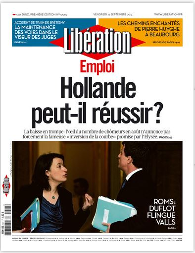 Libération Vendredi 27 Septembre 2013
