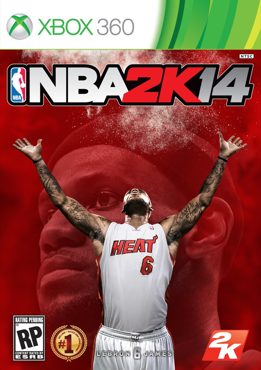 Poster for NBA 2K14