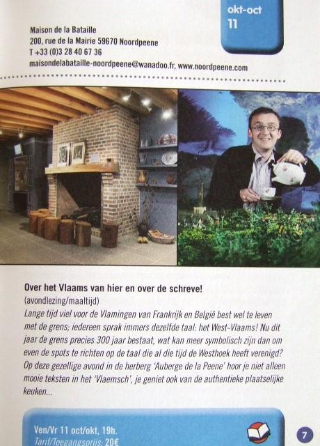 Het Frans-Vlaams in de musea, bezoekerscentra en toeristische diensten 13092802234314196111590272