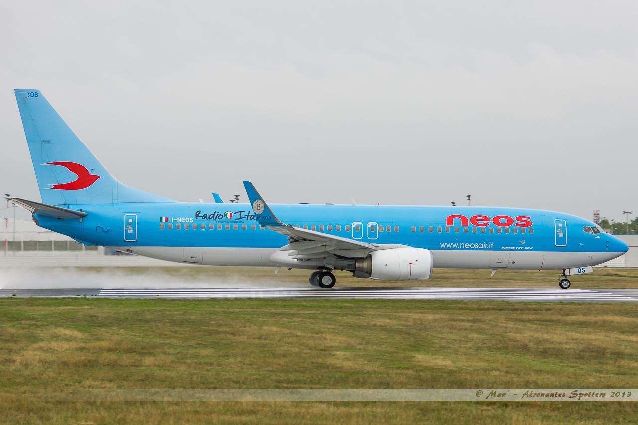 [28/09/2013] 737-800 (I-NEOS) Neos 13092901545216756011593568