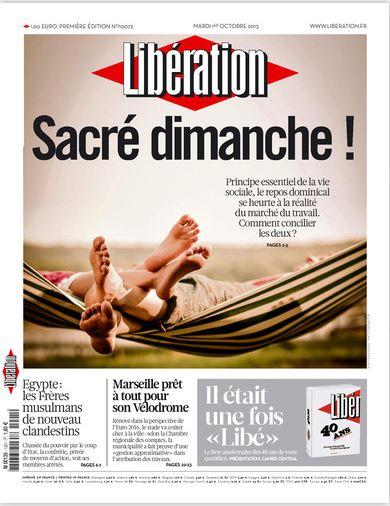 Libération Mardi 1er Octobre 2013